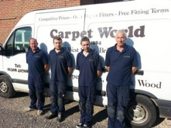 Carpet fitters in Bridport